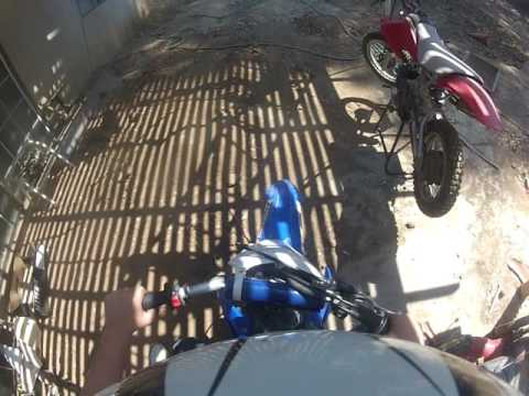 Backyard dirtbike track part 2