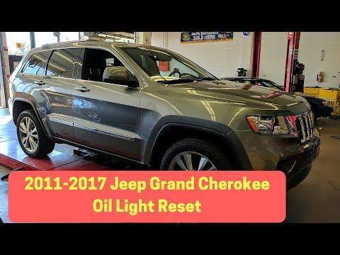 2011-2017 Jeep Grand Cherokee Oil Change Reset / Oil Life Reset