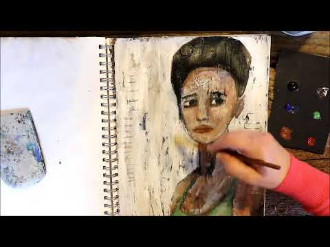 Art Journal: You Are Valued | Painted Face