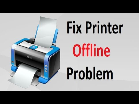 Printer Offline Problem!! Windows 10/8/7 - Howtosolveit