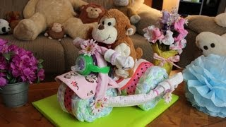 Download Tricycle Diaper Cake - How to make Video