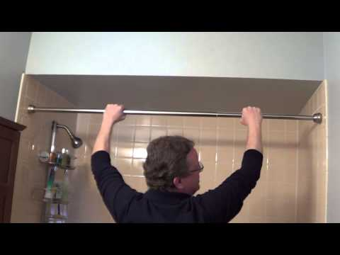 Shower Rod Installation - Tension Shower Rods