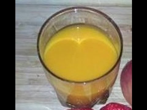 How to prepare Vitamin Carrot Punch -Healthy Recipes for Weight Loss