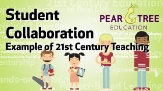Student Collaboration Example (21st Century Education)