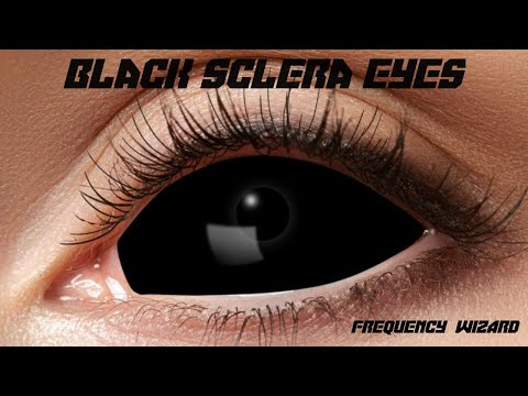 Get Black Sclera Eyes Fast! Subliminals Frequencies Hypnosis Spell