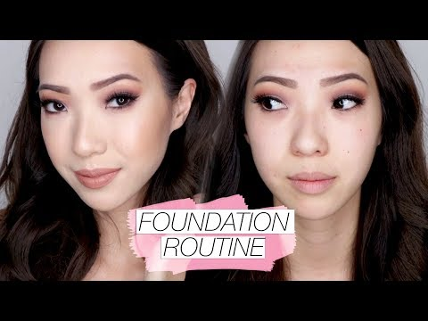 My Long Lasting Foundation Routine