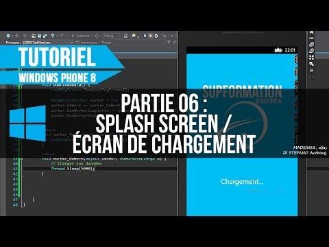 [WP8] 06 - Création d'un Splash Screen de chargement