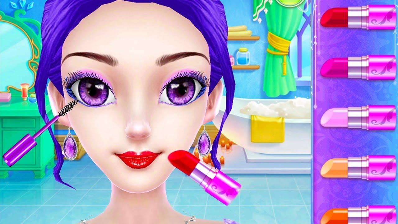 Ice Princess Royal Wedding Day - Play Fun Spa,Makeup,Dress Up & Cake Design Wedding Games For Girls