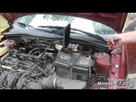 Fuel Filter Remove & Replace
