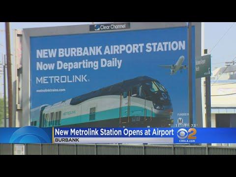 Metrolink Opens New Station Near Burbank Airport