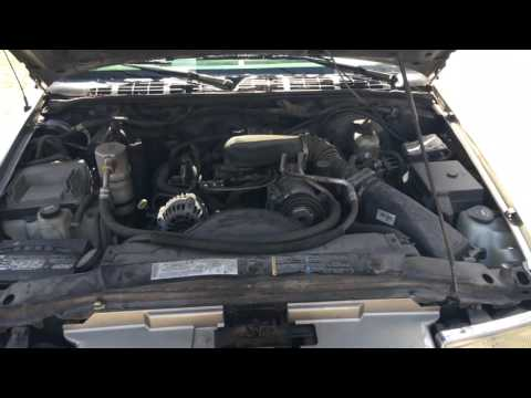 Where to add coolant in Chevy Blazer