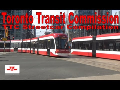 TTC Streetcar Compilation