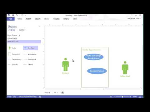 Creating Use Case Diagram