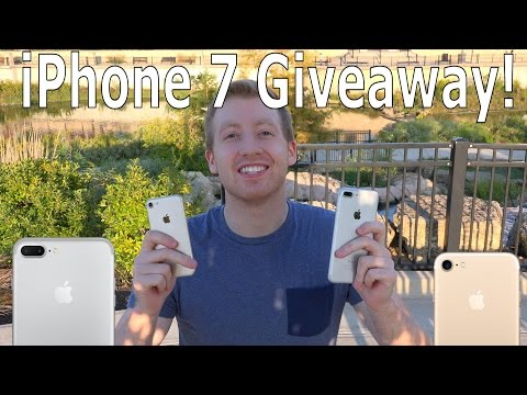 iPhone 7 Giveaway International! | Apple iPhone 7 or iPhone 7 Plus Free Giveaway