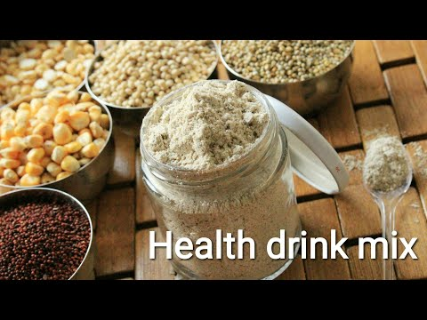 Health drink mix for 9+ months babies - Baby food recipe - Health drink mix for all ages