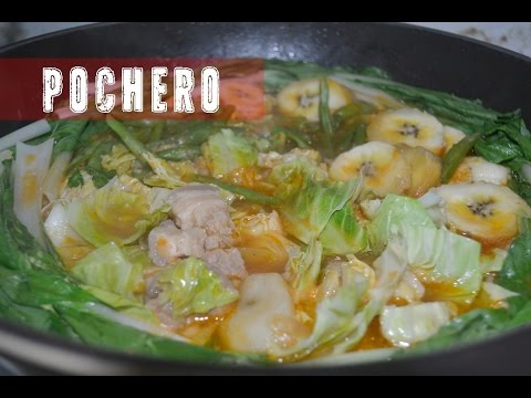 Napaka Sarap na POCHERO Recipe ! Try nyo na ! Pork Pochero Recipe