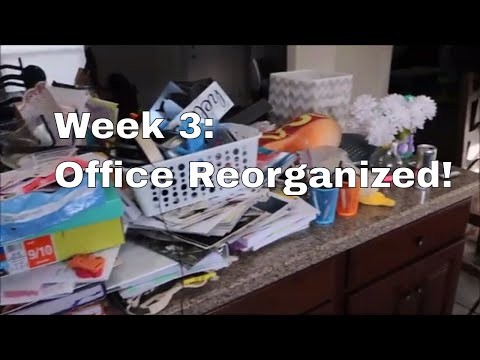 Week 3 The Office Gets Reorganized