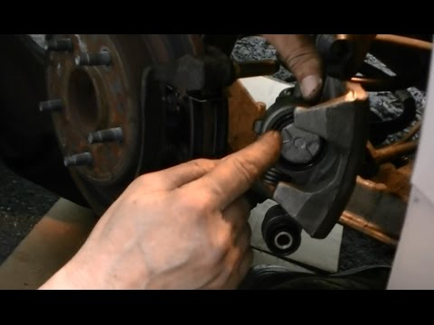 How to Install a Rear Brake Caliper , Buick Cadillac Olds 97 98 99 2000
