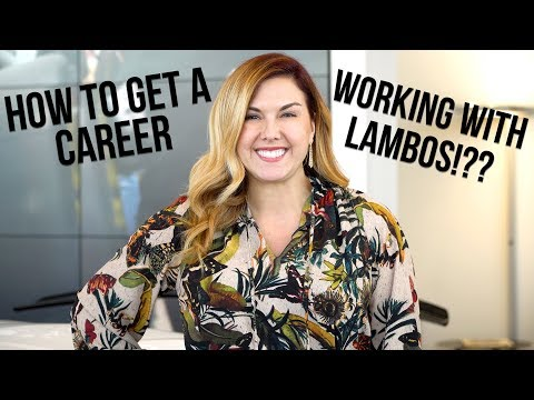 HOW TO GET A CAREER/JOB WORKING WITH LAMBORGHINIS!? 4K!!!