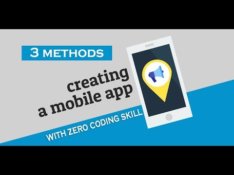 (3 Ways) How to Create an App for Android & iOS With ZERO Coding Skill