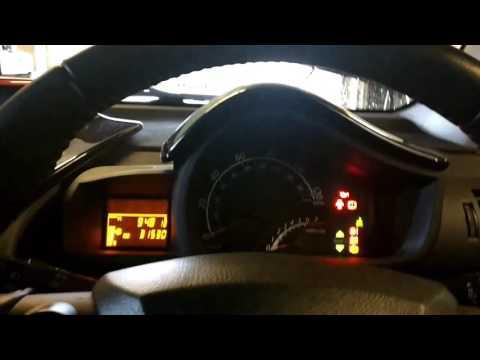 Toyota IQ service reset