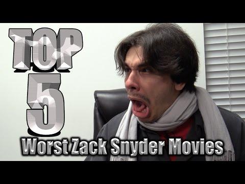 Top 5 Worst Zack Snyder Movies