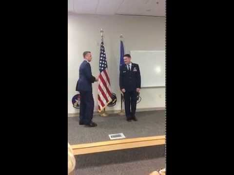 USAF promotion ceremony - part 1 of 2