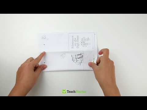 How to Fold a Mini Book from a Single A4 Page