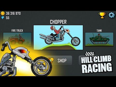 The Legendary Skull Chopper   Hill Climb Racing