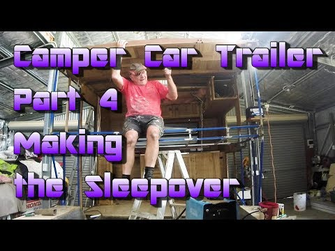 Making a Camper Car Trailer out of a Caravan - Part 4