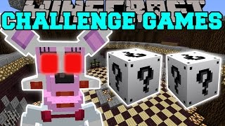 Minecraft: FUNTIME FOXY CHALLENGE GAMES - Lucky Block Mod - Modded Mini-Game