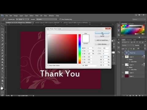 How to Create Photo Thank You Cards