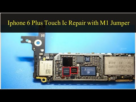 iPhone 6 plus touch ic