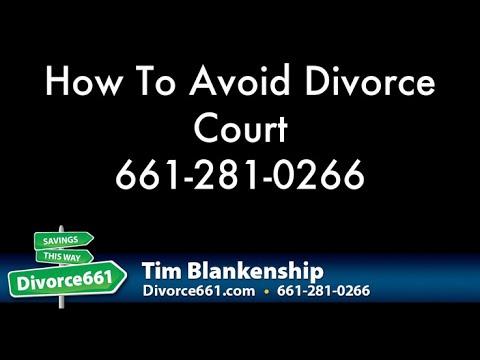 How To Avoid Divorce Court | San Fernando Divorce