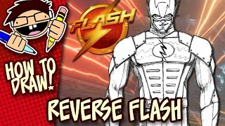 How To Draw Zoom The Flash Tv Series Easy Step By Step Tutorial