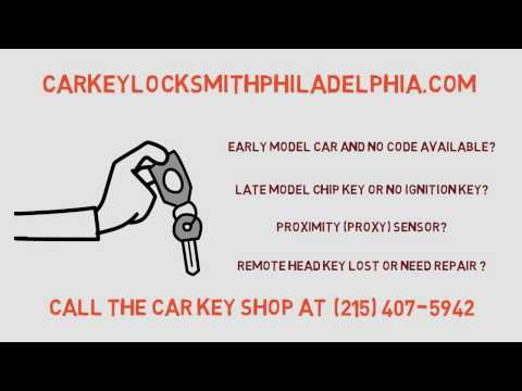 Lost Car Keys Made in Philadelphia pa