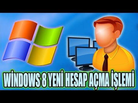 Windows 8 Kullanıcı Hesabı Açma Administrator Yetkisi