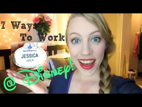 7 Ways to Work for Disney ||