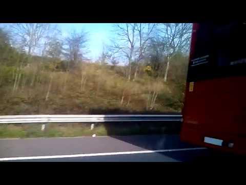 London buses near Birmingham