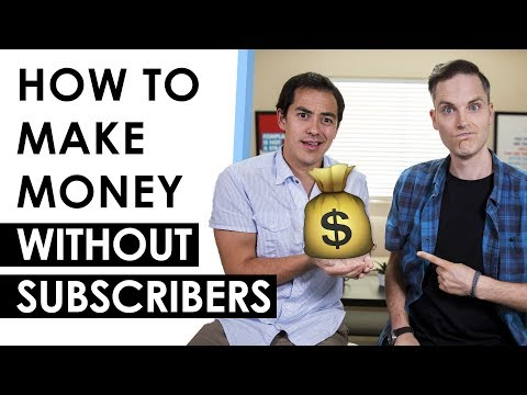 How to Make Money on YouTube without Subscribers — 3 Tips