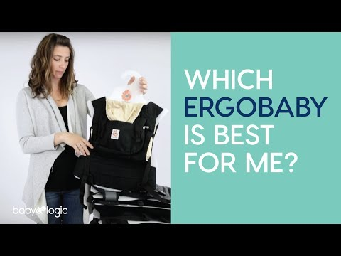 CARRIER 101: TYPES OF ERGOBABY