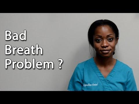 Bad Breath Causes, Treatment