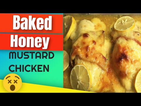 Baked Honey Mustard Chicken Breast by:Chef Girlie