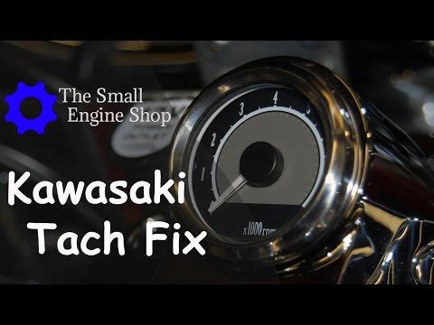 Kawasaki Vulcan 900 Classic LT Mini Tachometer Fix, Part #K53020-381, Quick Splice
