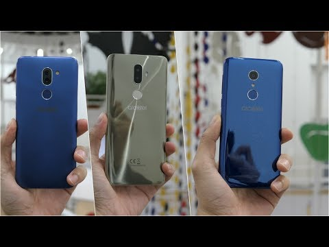 Alcatel 3, 3V, and 3X hands-on
