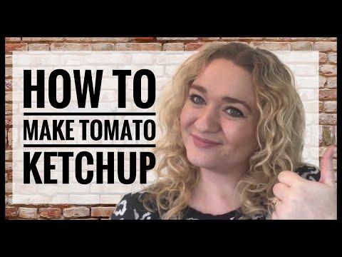 How To Make Tomato Ketchup - Zero Waste Kitchen - Ketchup Recipe
