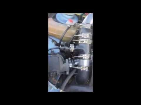Fixing turbo flutter sound