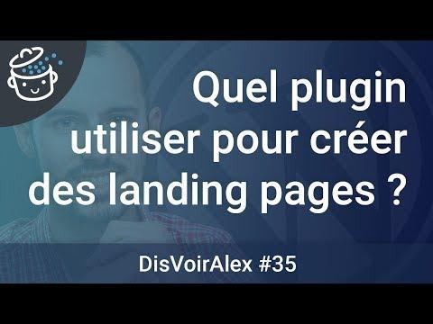 DVA35 : Quel plugin WordPress utiliser pour créer des landing pages ?