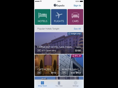 Expedia Hotels, Flights & Cars App - New Look & Added Features