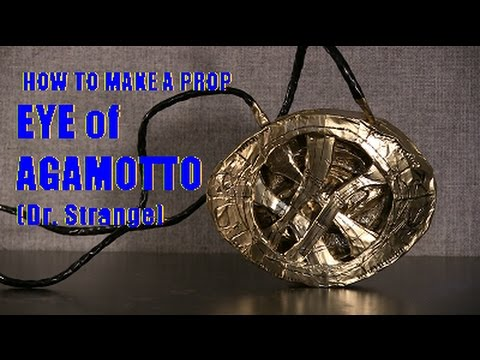 How to make a prop Eye of Agamotto (Dr. Strange)